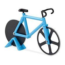 Relaxdays 10022555 45 Tagliapizza bicicletta Divertente Rotella per Pizza a F...