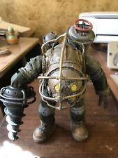 """7"""" NECA Bioshock 2 Big Daddy Bouncer Action Figure Adult owned &  displayed"""
