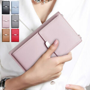 Women's New Quality Small Pu Leather Wallet Phone Purse Cross-body Shoulder Bags