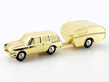 Schuco Piccolo VW 1500 Variant mit Camper gold Weihnachten 2007 # 50584000