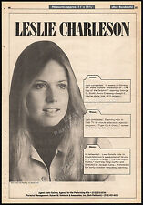 LESLIE CHARLESON__Original 1973 Trade Print AD promo/ poster__DAY OF THE DOLPHIN