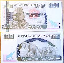 """BILLETE """"  ZIMBABWE    1000   DOLARES   AÑO  2003    PLANCHA    UNC"""