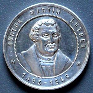 Zinnmedaille 400. Geburtstag Martin Luther 10. November 1883 -4024-
