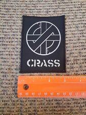 CRASS DIY Amebix Anti Phobia Antisect Crust Punk Disrupt Doom Filth Cloth Patch