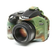 Camera silicone cover for Nikon D3200+ LCD Screen Protector Camouflage