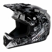 "Nitro Extreme MX Helmet Blk/Gry/Wht Medium *NEW with Tags"", Sale Price"