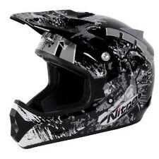 Nitro Extreme MX Helmet Blk/Gry/Wht Medium *NEW*