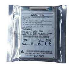 """NEW 1.8"""" TOSHIBA 80GB 4200RPM APPLE VIDEO IPOD MINI HARD DRIVE MK8010GAH HDD1784"""
