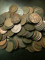 ☆Large Cent US Penny Cull Braided Coronet☆ Draped Bust Classic Estate 1793-1858☆
