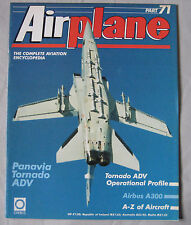 Airplane Issue 71 Panavia Tornado ADV cutaway drawing & poster, Ascendant Airbus