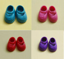 A set of 60 Pairs Shoes For Kelly Doll - 4 Color