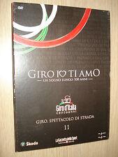DVD N°11 GIRO IO TI AMO GIRO SPETTACOLO DI STRADA GIRO D'ITALIA CENTO ANNI