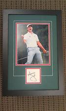 "Adam Scott Autographed 2013 Masters Champion ""Signature Series"" Frame - PBA COA"