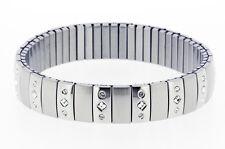 Stretch Surgical Steel Bracelet with Swarovski Stones model 17