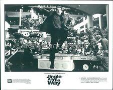 1996 Jingle All the Way Original Press Photo Arnold Schwarzenegger Sinbad