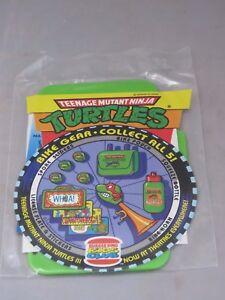 Vintage TMNT Teenage Mutant Ninja Turtle 1993 Burger King  bike license plate