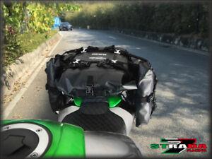 Strada 7 Motorcycle Universal 40L Combo Dry Duffle Tail Bag KTM 990 Supermoto