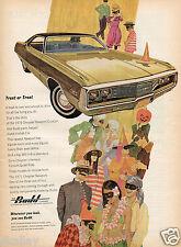 1970 Print Ad of 1971 The Budd Company Chrysler Newport Custom halloween party