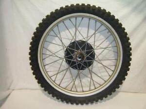 Front Wheel Rim Hub Spokes Tire 3.50-21 79 80 Husqvarna WR250 250 390 WR CR OR