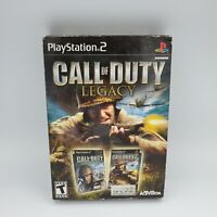 Call of Duty: Legacy Box Set (Sony PlayStation 2 PS2) *COMPLETE -  Free Shipping