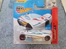 Coches de carreras de automodelismo y aeromodelismo Hot Wheels color principal blanco