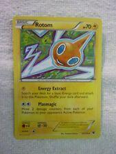 Carte pokémon rotom 24/124 rare carte anglaise
