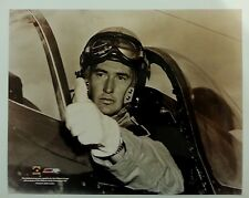"""Ted Williams """"jet fighter"""" Boston Red Sox 8x10 photo #ed Hologram"""