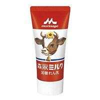 Morinaga Japanese Condensed Milk Natural and Tasty Topping Tube 120g