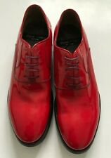 "Paul Smith Ladies ""GRISSON"" Red Patent Leather Shoes"