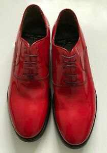 """Paul Smith Ladies """"GRISSON"""" Red Patent Leather Shoes"""