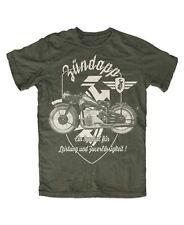 Zündapp T-Shirt OLIV K800,KS750 Gespann Zweirad Kult Logo CS 50,ks 80 bis 5xl