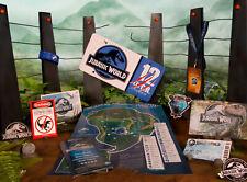 Coffret officiel bienvenue à Jurassic world Welcome to the park deluxe kit