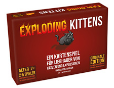 Exploding Kittens - Original Edition Kartenspiel - DEUTSCH OVP!