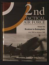 2nd Tactical Air Force Breakout Bodenplatte Vol. 2 Shores+Thomas 1st Ed HB 2005