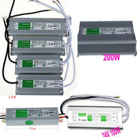 IP67 Waterproof Transformer Power Supply Adapter AC to DC 12V 24V LED Driver New
