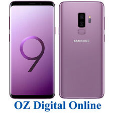 "NEW Samsung Galaxy S9+ Plus Dual Sim G965FD 128GB Purple 12MP 4G 6.2"" Unlocked"