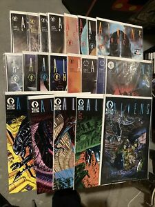 ALIENS DARK HORSE LOT VF-NM MARK NELSON 1988 Vol. 2 1989 HIVE GENOCIDE EARTH WAR