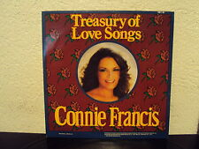 CONNIE FRANCIS - Treasury of love songs