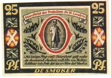 1921 Germany AHAUS 25 Phennig Banknote / Notgeld