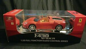 MJX R/C Red Ferrari F430 Spider Radio Control 1/20 Scale New In Package