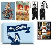 5 tlg. Nostalgie Set - Leszeichen + Magnete + Blechschild  - Ahoj Brause +. /180