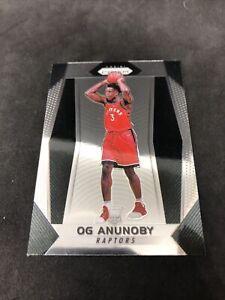 2017-18 Panini Prizm OG Anunoby RC Rookie Card Raptors #38