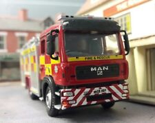 MAN JDC John Dennis Durham Fire Rescue Engine Model 1:76 OO/00 Oxford
