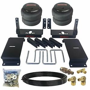 Air Suspension Tow Assist Kit Fits 1988-98 Chevy 1500 Truck Rear Over Load Level