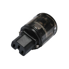 Audio Grade C-004 Platinum US Power IEC Connector for Audio Equipment New