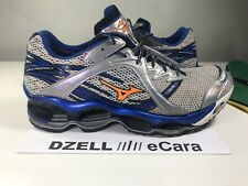 MIZUNO WAVE PROPHECY 2 3 4 5 SILVER BLUE ORANGE W/ ORTHOTIC SPENCO INSERTS 14 15