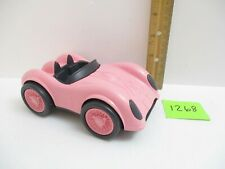 Green Toys Pink Race Car Made in the USA from Recycled Plastic about 5