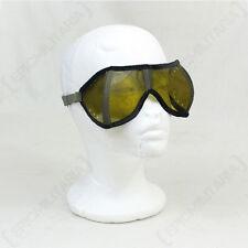 Original Tinted Tank Goggles - Genuine Military Army Surplus German Glasses