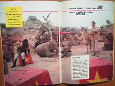 1962 TV Guide(FRONTIER CIRCUS/JOHN DEREK/DON KNOTTS/ANDY GRIFFITH/CHANA EDEN