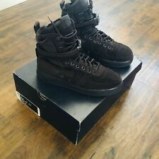 Chocolate SF AF-1 high sz 9.5 near DS Air Force 1 Nike Bears Size Rare